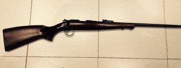 carabina calibre22 zesca cerrojo con rosca de freno de boca de serie - Cazman armas